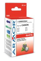 Kompatibilní cartridge Canon CLI-571BK XL, PIXMA MG5750, MG5751, MG5752, black, Armor